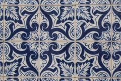 Uitstekende keramische tegel royalty-vrije stock afbeelding