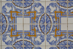 Uitstekende keramische tegel royalty-vrije stock afbeeldingen