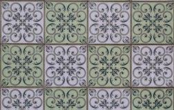 Uitstekende keramische tegel Royalty-vrije Stock Foto