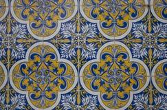 Uitstekende keramische tegel stock afbeelding