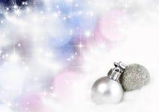 Uitstekende Kerstkaart royalty-vrije stock afbeelding