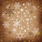 Uitstekende Kerstmiskaart royalty-vrije stock afbeeldingen