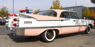 Uitstekende Klassieke Amerikaanse Auto 50-50-60Â's Stock Foto's