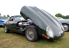 Uitstekende klassieke e-type jaguar Royalty-vrije Stock Afbeelding