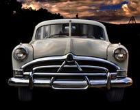Uitstekende Klassieke Raceauto Royalty-vrije Stock Afbeeldingen
