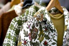Uitstekende kleren Stock Foto's