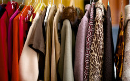 Uitstekende kleren Royalty-vrije Stock Foto's