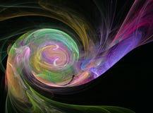 Uitstekende kleurrijke abstracte cijfers Stock Fotografie