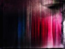 Uitstekende kleurrijke filmplaat Stock Afbeelding