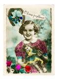 Uitstekende kleurrijke foto Stock Fotografie