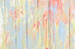 Uitstekende kleurrijke muur Royalty-vrije Stock Afbeeldingen