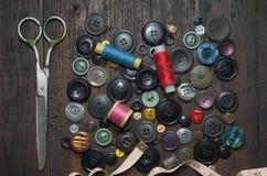 Uitstekende Knopen stock fotografie