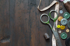 Uitstekende Knopen Stock Foto