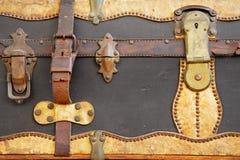 Uitstekende koffer Stock Afbeelding