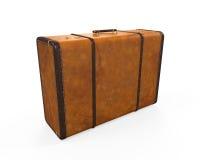 Uitstekende koffer Royalty-vrije Stock Afbeelding