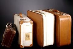 Uitstekende koffer Royalty-vrije Stock Afbeeldingen
