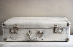 Uitstekende koffer Stock Foto