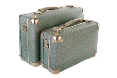 Uitstekende koffers Royalty-vrije Stock Fotografie