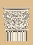 Uitstekende kolom Royalty-vrije Stock Afbeeldingen