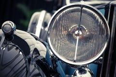 Uitstekende koplamp royalty-vrije stock afbeelding