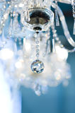 Uitstekende kristallamp Stock Foto
