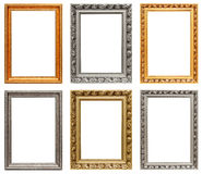 Uitstekende kunstframes Stock Afbeeldingen