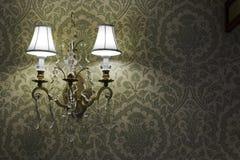 Uitstekende lamp Stock Fotografie