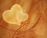 Uitstekende liefdeachtergrond vector illustratie