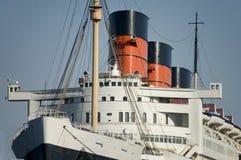 Uitstekende Lijnboot Stock Afbeelding