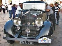 Uitstekende limousine Royalty-vrije Stock Afbeeldingen