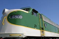 Uitstekende Locomotief Royalty-vrije Stock Afbeeldingen