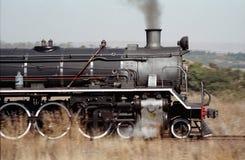 Uitstekende locomotief Stock Foto's