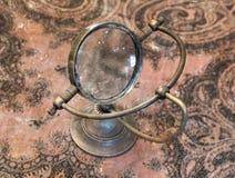 Uitstekende meer magnifier loupe - Selectieve nadruk Royalty-vrije Stock Foto