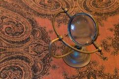Uitstekende meer magnifier loupe - Selectieve nadruk Stock Foto