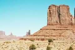Uitstekende mening over Amerikaans westelijk symbool Stock Fotografie