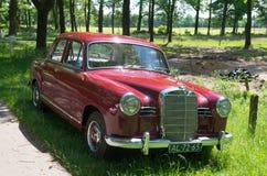 Uitstekende Mercedes Benz Royalty-vrije Stock Afbeelding
