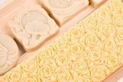 Uitstekende met de hand gemaakte zeep Stock Foto's