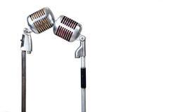 Uitstekende microfoon Stock Fotografie