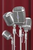 Uitstekende microfoons royalty-vrije illustratie