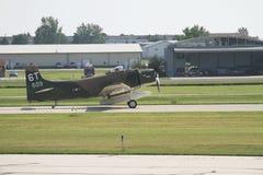 Uitstekende Militaire Vliegtuigen Royalty-vrije Stock Afbeelding