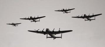 Uitstekende militaire vliegtuigen royalty-vrije stock foto's