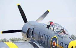 Uitstekende militaire vliegtuigen Stock Foto's