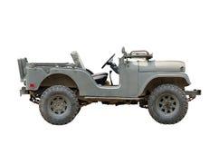 Uitstekende militaire voertuigen royalty-vrije stock foto