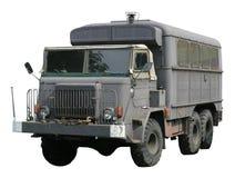Uitstekende militaire vrachtwagen stock afbeelding