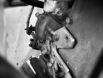 Uitstekende motor Royalty-vrije Stock Fotografie