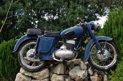Uitstekende motorfiets royalty-vrije stock afbeeldingen
