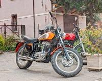Uitstekende motorfiets Ducati Stock Fotografie