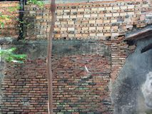 Uitstekende muur Stock Afbeeldingen
