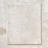 Uitstekende muur van de Grunge de witte gipspleister stock foto