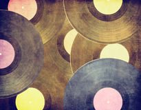 Uitstekende muzikale achtergrond Royalty-vrije Stock Fotografie